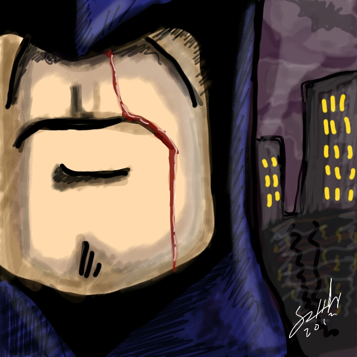 Dark Knight Pissed Off