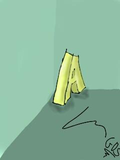 letter (A) dqns le Coine