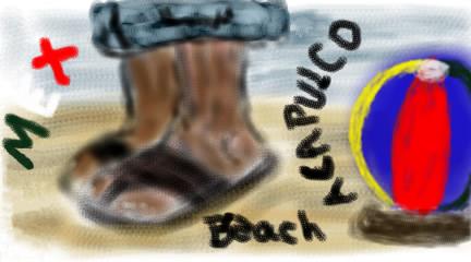 Beach at Acapulco